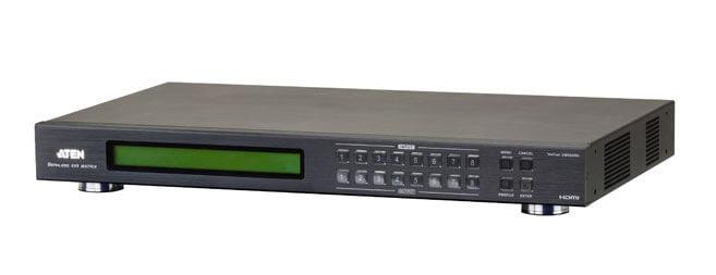 Conmutador de Matriz HDMI con Videowall & Escalador